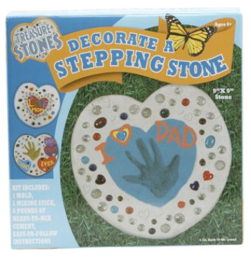 Garden stepping stone project for preschoolers