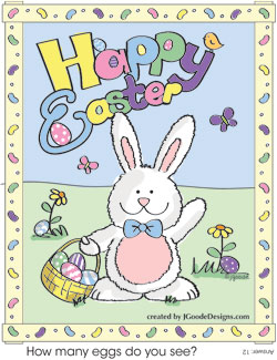 Easter Bunny coloring and activity page - Projects for Preschoolers