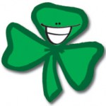 Happy shamrock