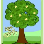 Love the Earth coloring page