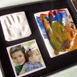 Handprint craft – keepsake box