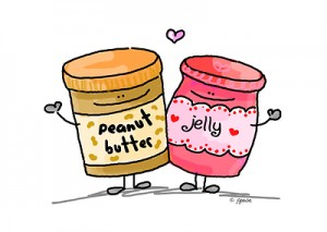 peanut butter loves jelly by JGoode