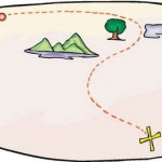 Plan a treasure hunt and make a treasure map