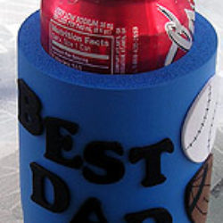 Best Dad can cooler craft for Father's Day