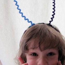 Make a silly bug headband