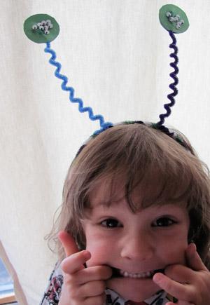 silly bug headband