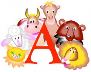 A is for Animal - animal activities for preschoolers