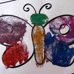 Make it sparkle: using glitter