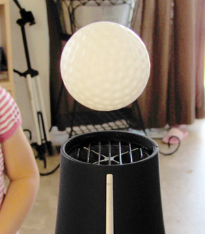Ping Pong ball experiment