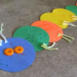 Make your own caterpillar