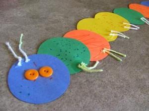 Make a caterpillar