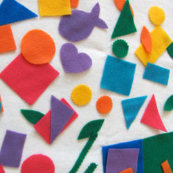 Make a felt play activity board
