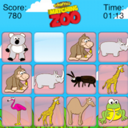 Matching Zoo iphone game