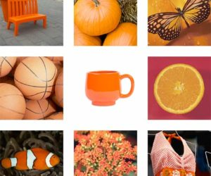 The color Orange, activities for preschoolers