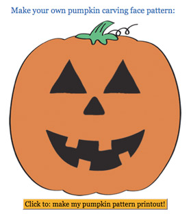 Design your own pumpkin carving