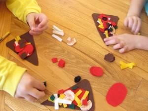 Play food - make a pizza play set