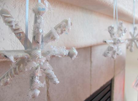 make snowflakes