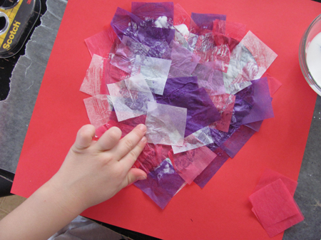 glue tissue