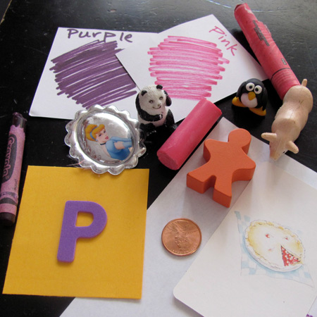 Learning the letter P