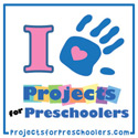 I am Featured on Projects for Preschoolers