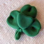 Easy clay shamrock