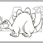 dinosaur coloring page