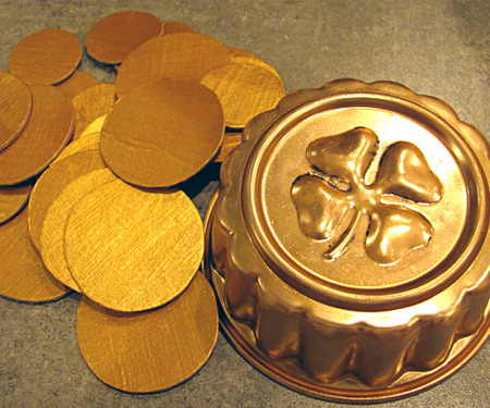 Make a pot of gold coins preschool activity