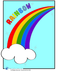 Color a rainbow