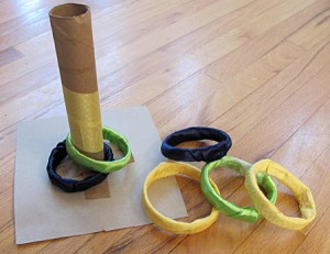 Make your own ring toss