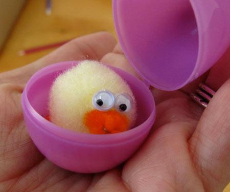 little puff chick craft