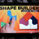 Shape Builder - iphone app for preschoolers