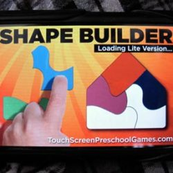 Shape Builder puzzle game – a preschool iPhone app