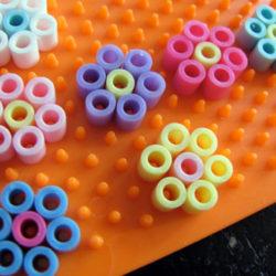 Perler Bead preschool art