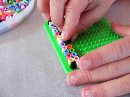 perler beads and preschoolers