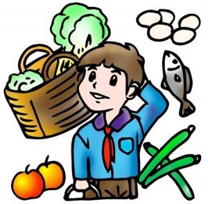 exploring food with preschoolers