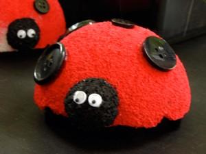 cute Styrofoam ladybug
