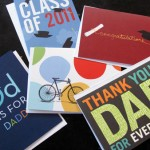 Tiny Prints Dads and Grads sample card pack