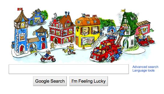 Richard Scarry on Google