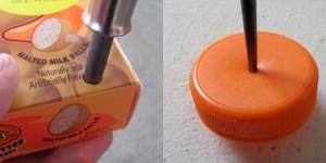 make wheels for a candy box car