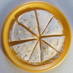 Cheese quasadillas yum!