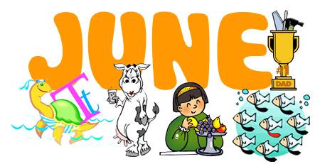 June activities for Preschoolers