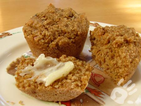 Malt-O-Meal Mini Spooner muffins