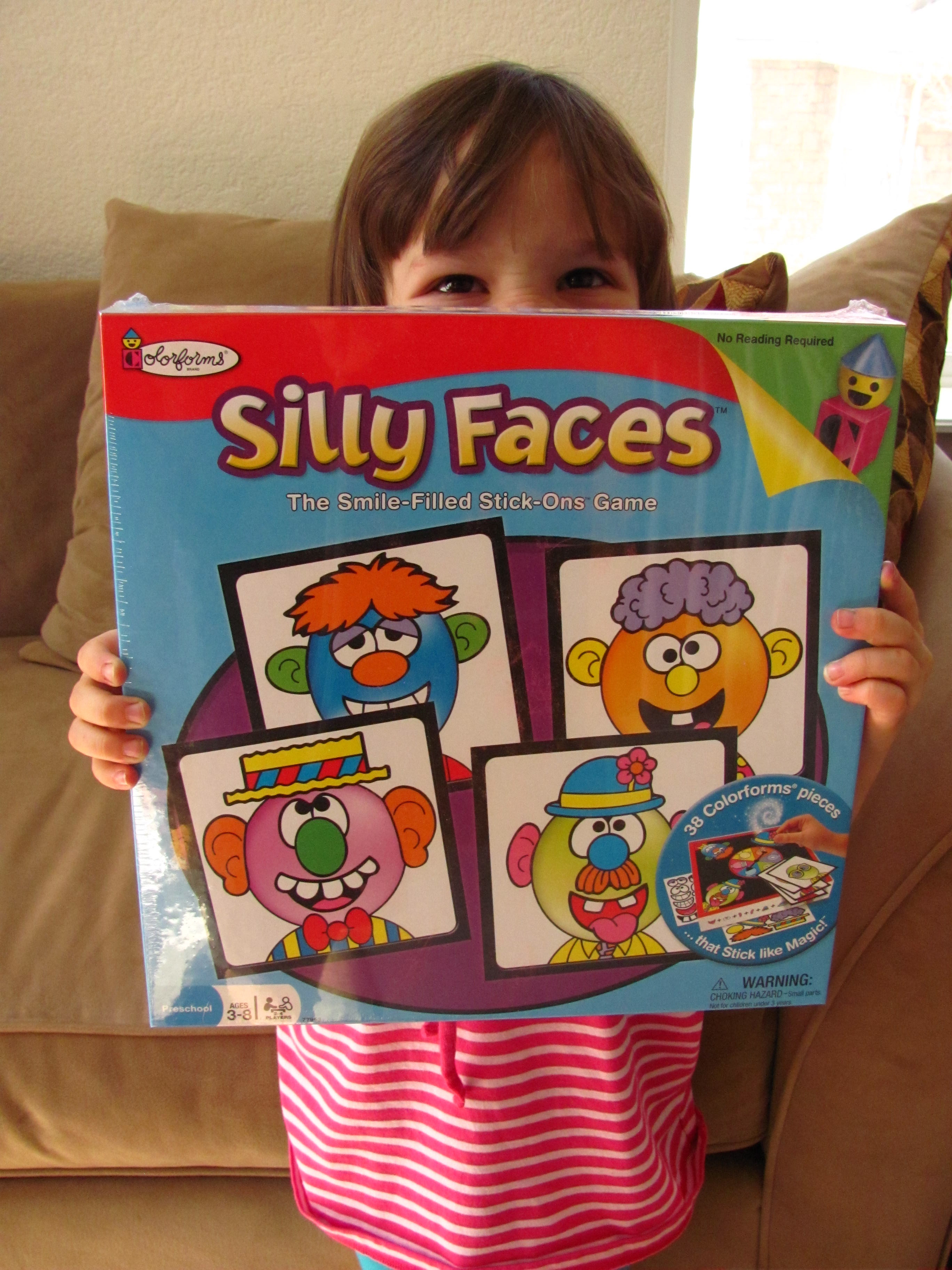 Silly Faces game by Colorforms