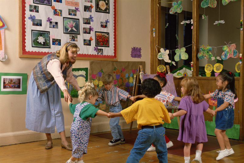 Inside preschool activities
