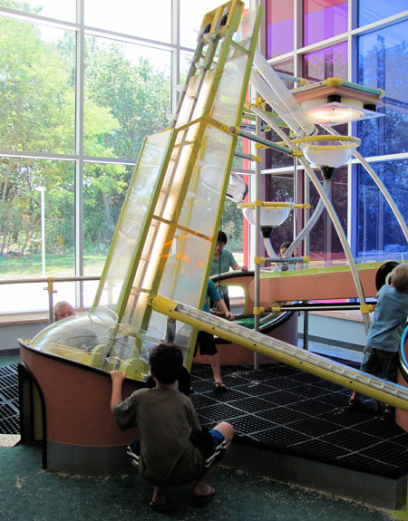 Learning at the Kansas Children's Discovery Center