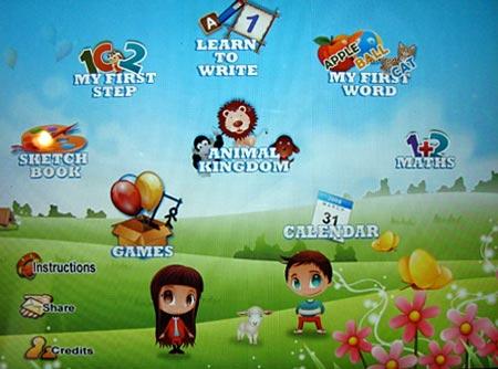 15 in 1 preschool game for iPad