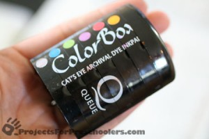 ColorBox cat's eye stamp pads