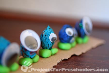 Making peach pit monsters