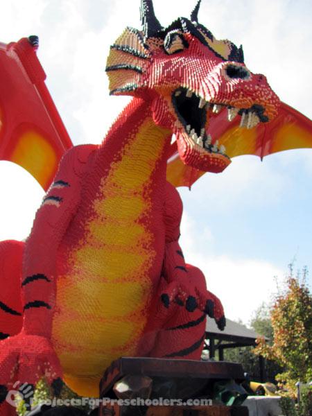 LEGOLAND California LEGO dragon