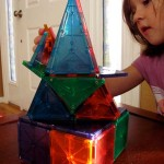 Building with Magna-Tiles from Steve Spangler Science